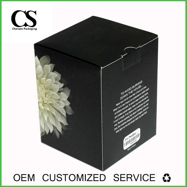 high quality custom packaging paper box logo print