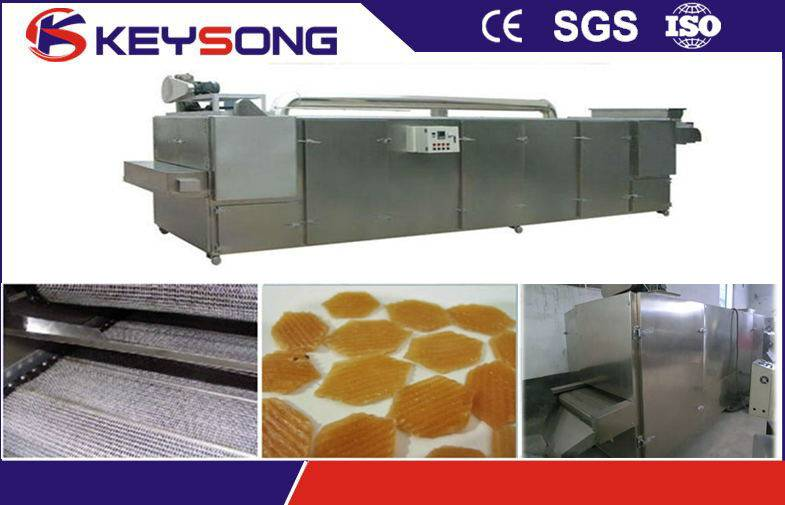 Electric Food Dryer Mesh Belt with Dog Cat Fish Feed Production