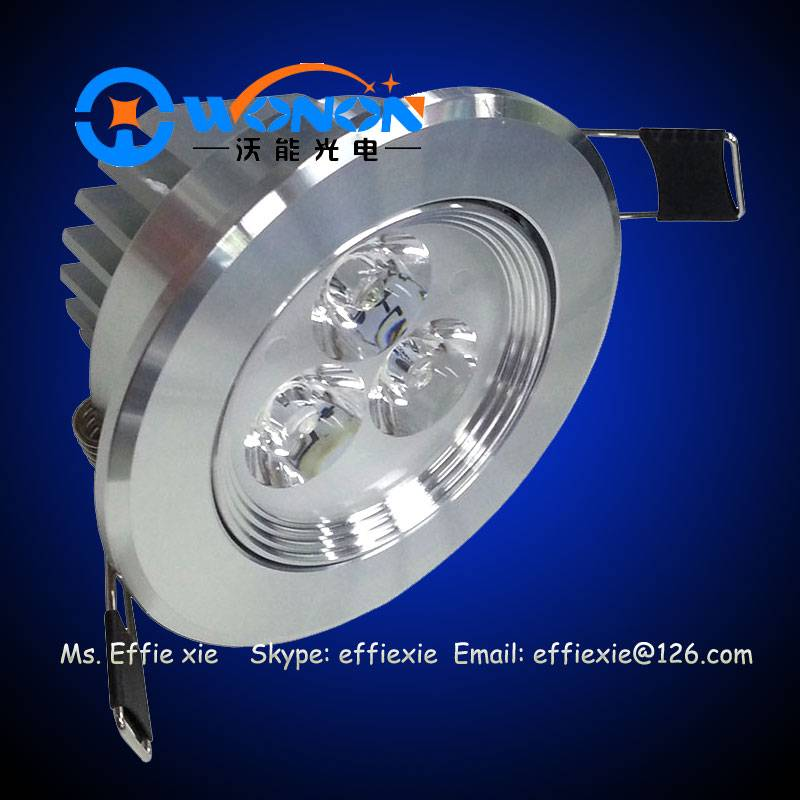 3x1W LED Ceiling Lights with CE Rohs
