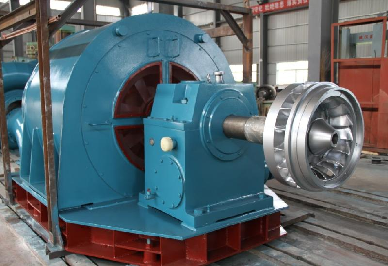 30-50KW Axial Flow Type Hydro Water Turbine