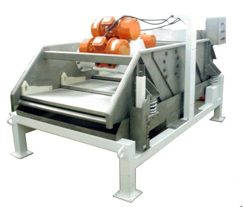 Rectangular Solid and Liquid Separator Machine