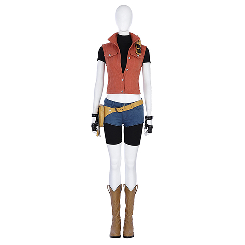 Hot game Resident Evil 7 Biohazard Claire Redfield cosplay costume customize