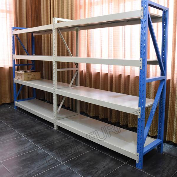 Supermarket Warehouse Storage Steel Stacking Goods Rack Shelves
