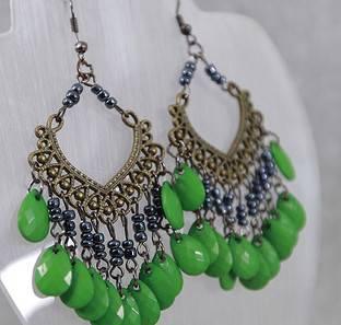 Hot Top Fashion Women Tassel Earrigs Party