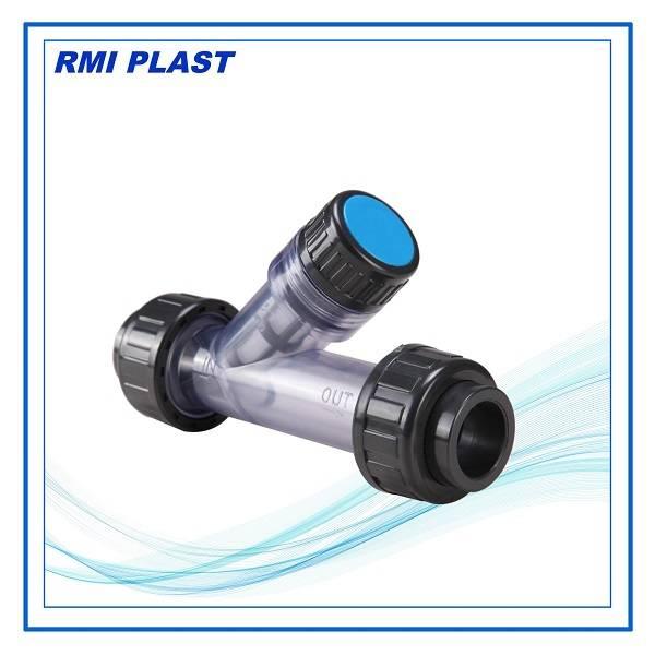 PVC Y type strainer socket DIN, ANSI, JIS