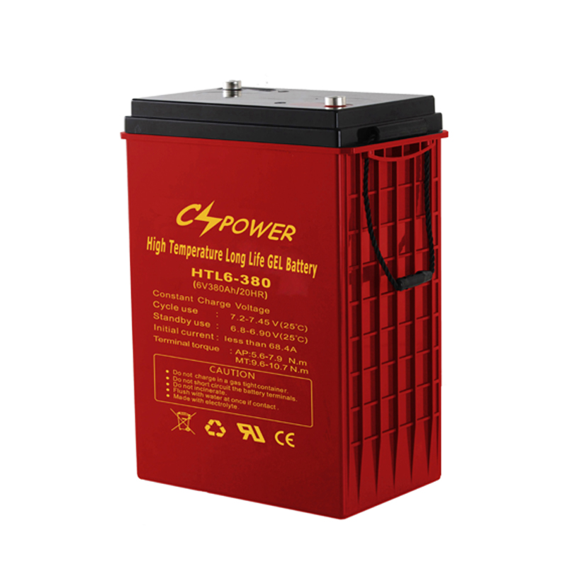 6V 380Ah Deep Cycle Solar Gel Battery for Solar/Marine