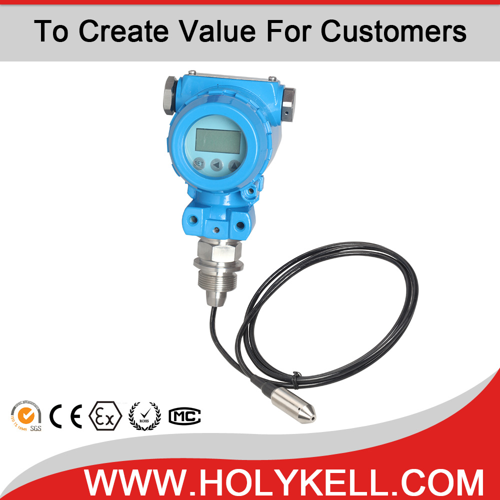 HOLYKELL HPT612-W zigbee water tank level sensor wireless