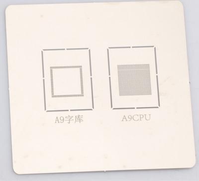 iphone A6 A7 A8 A9 Font NAND CPU Reballing tin plate steel