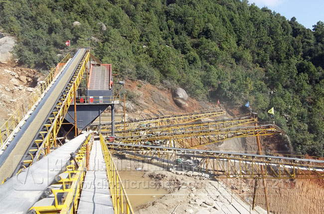 Gravel Production Line for Stone Crushing
