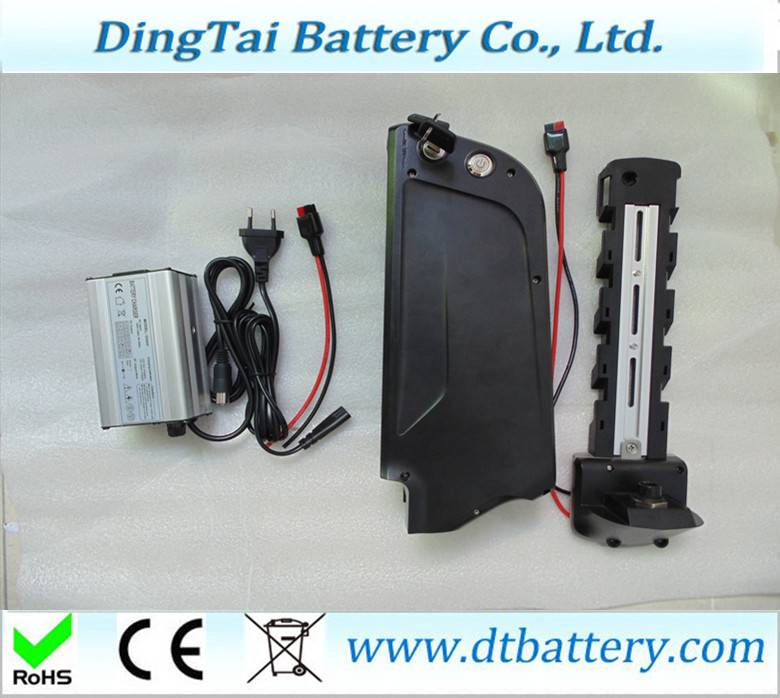 36V 17Ah down tube battery Li-ion ebike battery with 5V USB output for electric bike with free charg