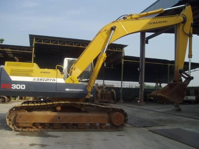 PC300,Used,Komatsu,Excavator,PC300-5