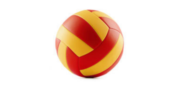 Machine Stitched PU/PVC Volleyball, High Quality Waterproof Neoprene
