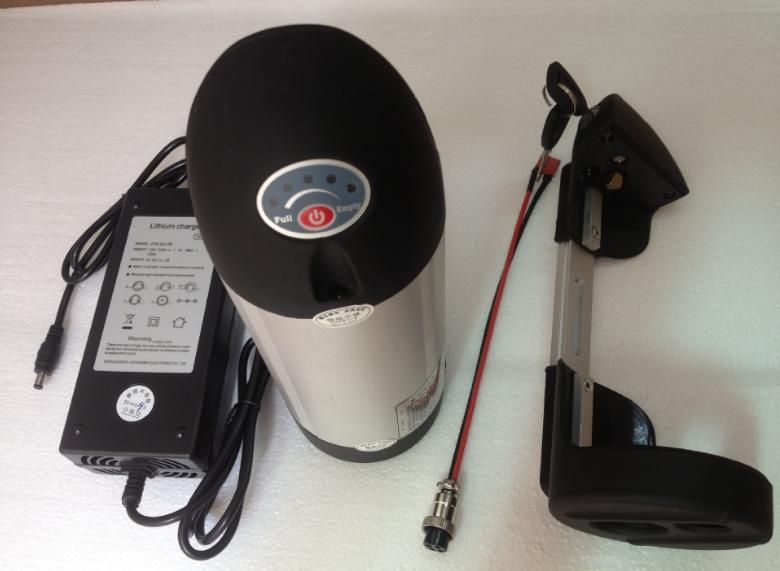 36v 10.4ah electric bike li ion battery 18650 deep cycle safety battery kit 36v 500w