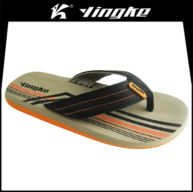 High quality oem logo wholesale summer eva beach flip flops custom men slippers