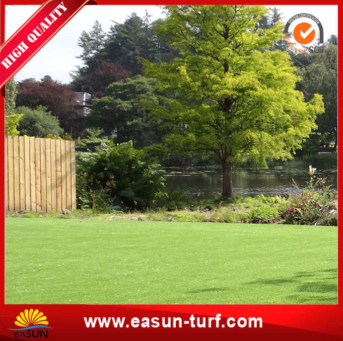 Four colour natural look garden residential artificial grass turf-AL