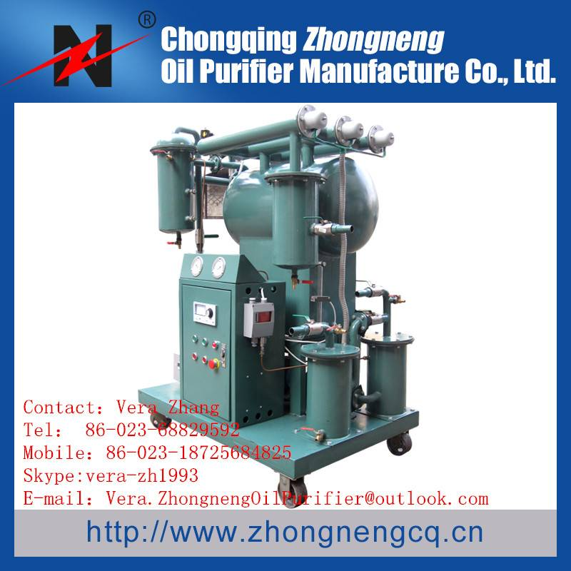 Series ZY Highly Effective Vacuum  Transformer Oil Filtration Machine/oil purifier