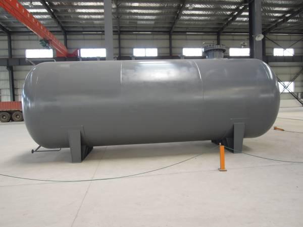 Liquid ammonia tank
