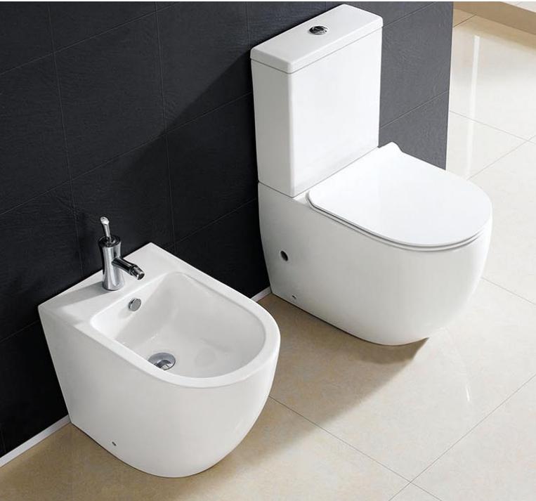 Peachy Eago Brand New Two Piece Toilet Suite With Bidet Foshan Customarchery Wood Chair Design Ideas Customarcherynet