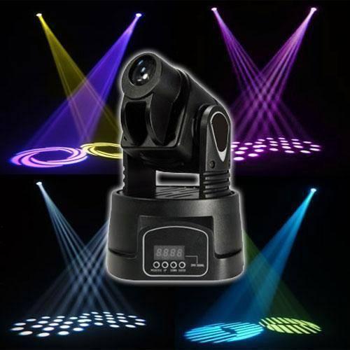 15W mini gobo moving head light/party light/disco light