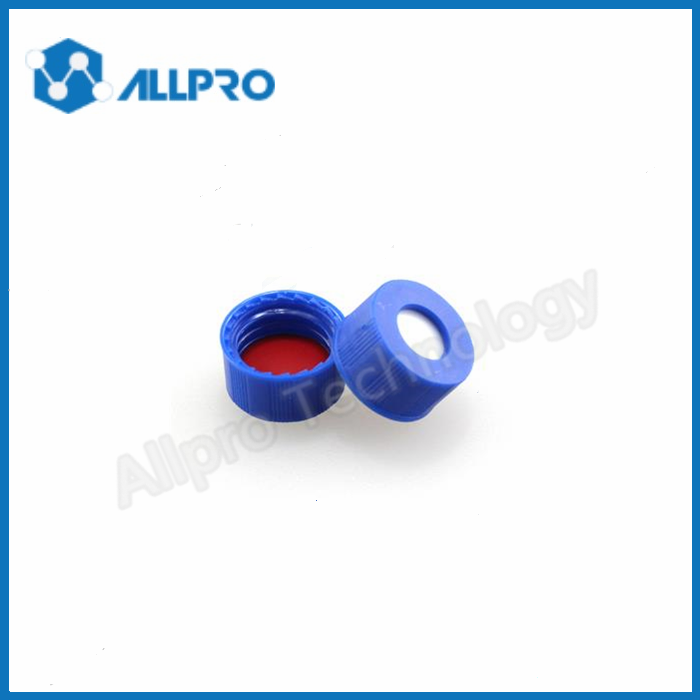 9mm bonded cap with PTFE/silicone septa