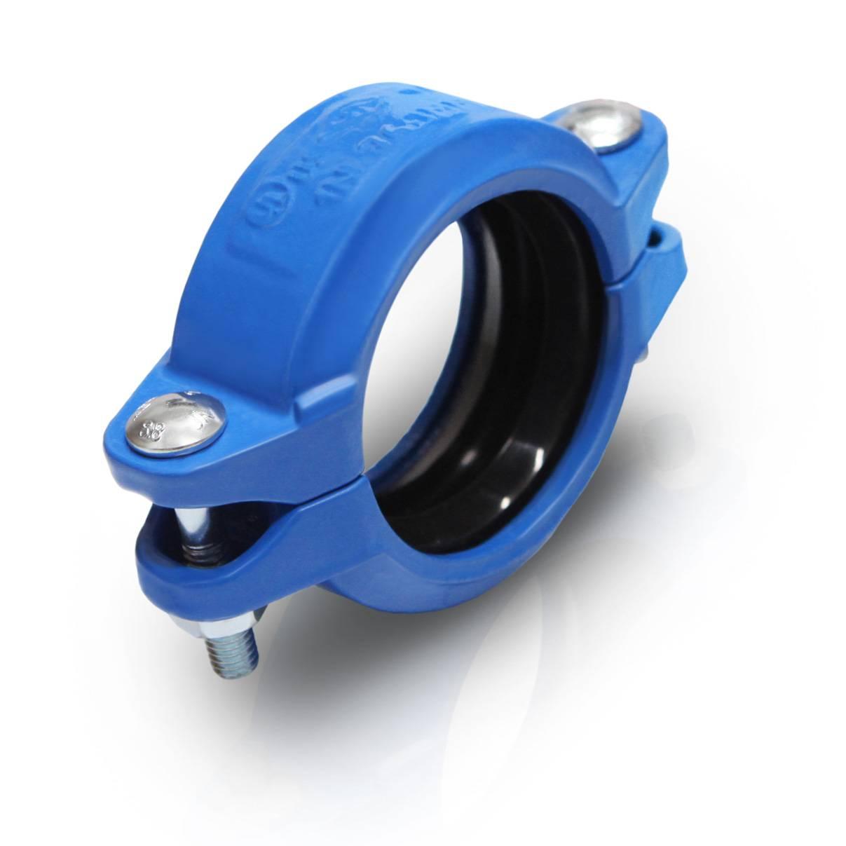 Model 97IL ductile iron medium pressure flexible coupling 350psi