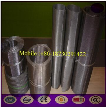 75um stainless steel continous filter belt for Plastic Extruder screen changer machine