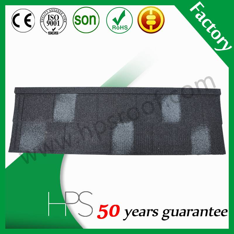 Good Quality Shingle stone coated metal roof tile