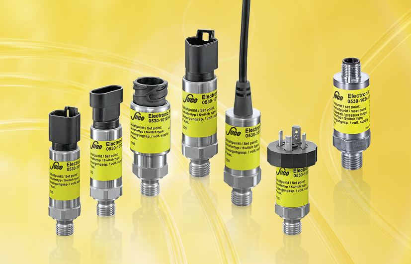 "SUCO Electronic pressure switches, ""High-Performance"""