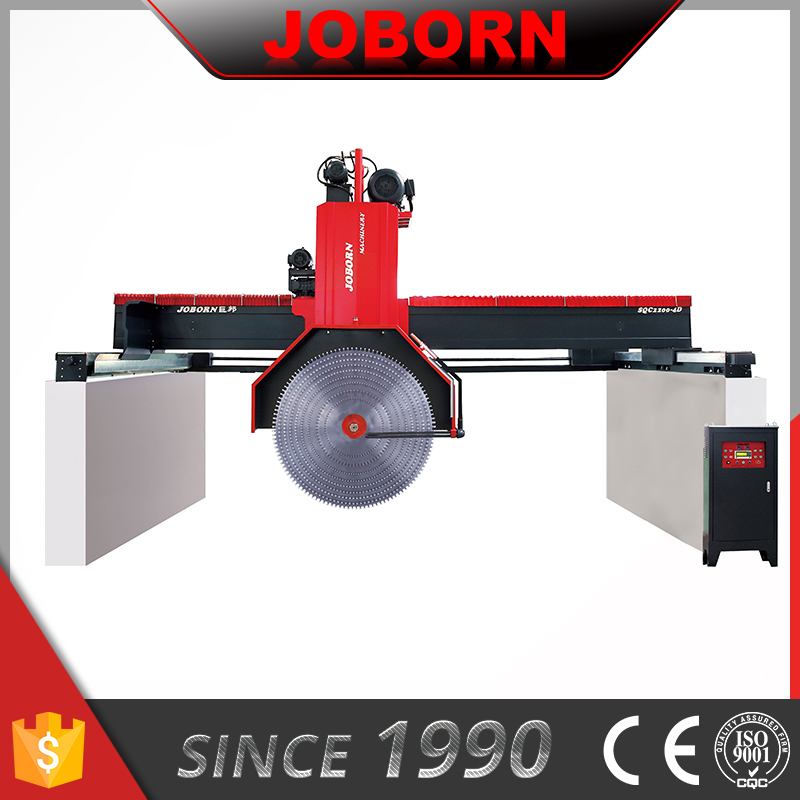 JOBORN SQC2800 Multi Blades Granite & Mable Block Waterjet Cutting Machine