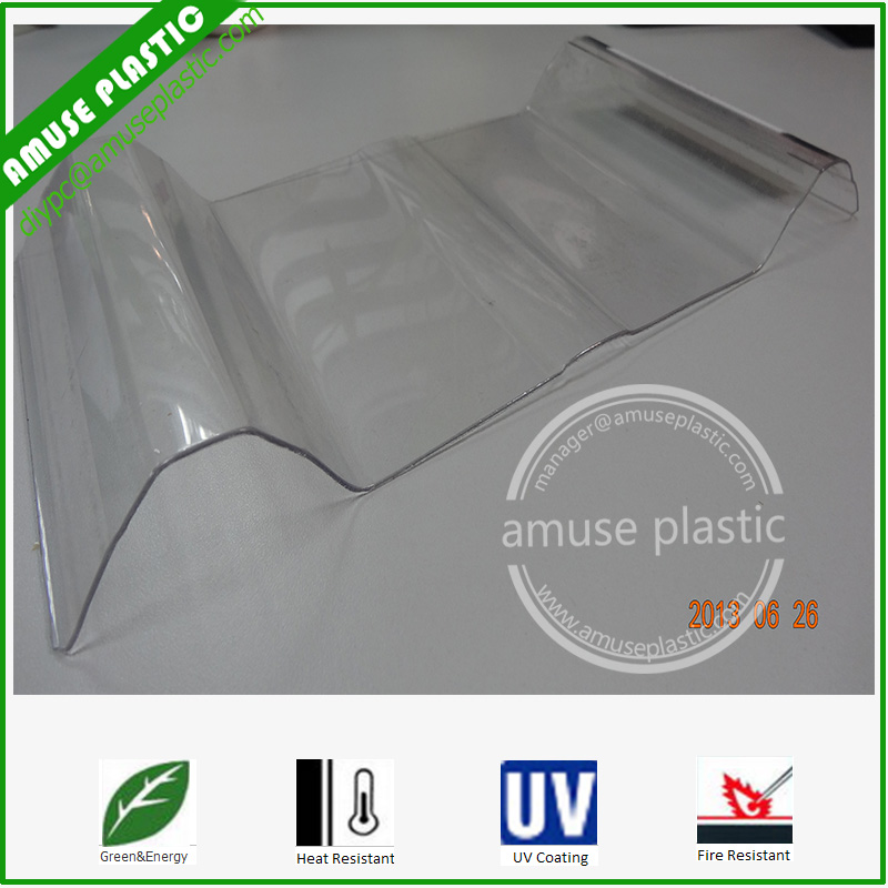 Policarbonato Sheet Hollow Solid PC Panels Corrugated Polycarbonate Roof Tiles Sheets