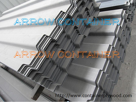 Container parts- shipping container front end panel