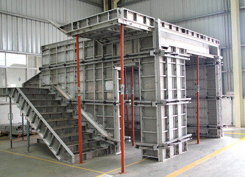 new kind of aluminum formwork,durable,low cost,easy to set up,tear down, and clean.formwork
