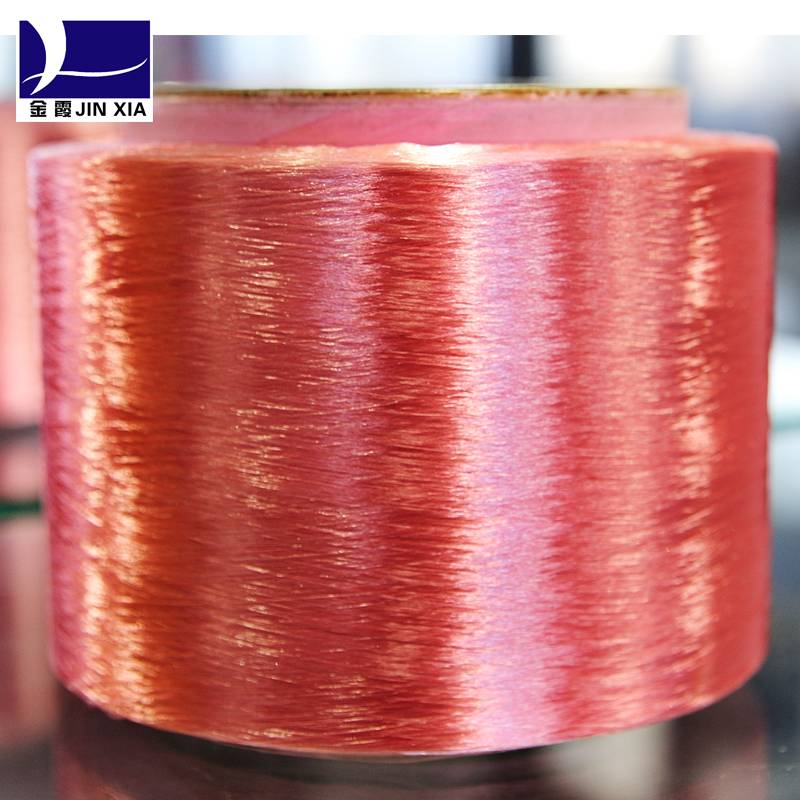 100 dope dyed polyester yarn fdy for knitting