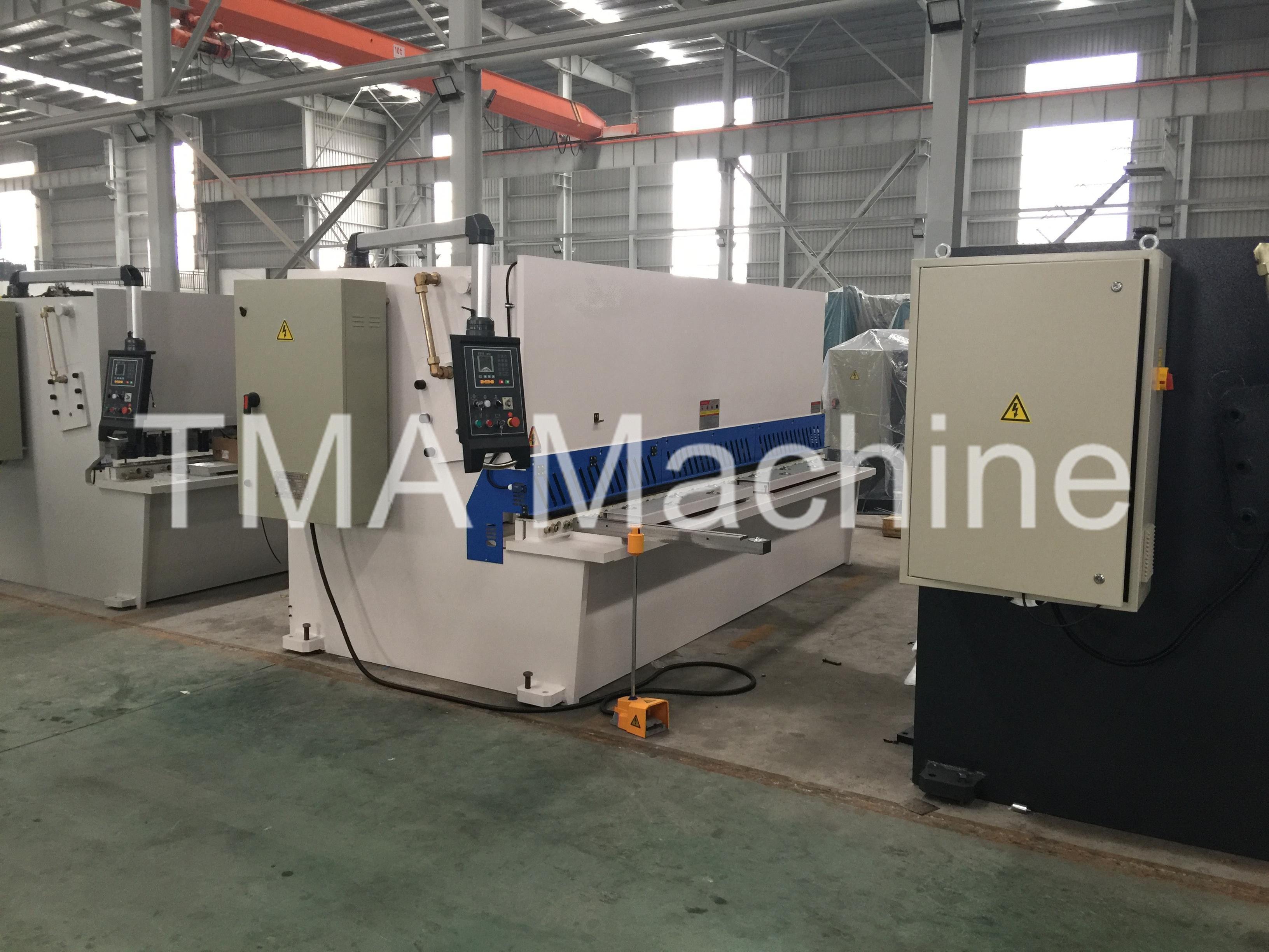 High Quality QC11Y-6X4000 Sheet Metal Shearing Machine, Hydraulic Shearing Machine