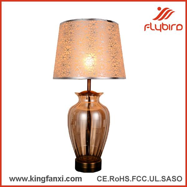 decorative glass  table lamp