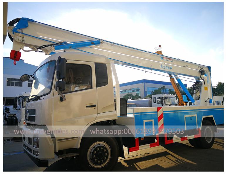 Dongfeng Brand Cummins 170HP 18 Meters Aerial Platform Truck