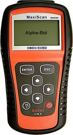 Maxiscan MS509 OBD2/EOBD car scanner