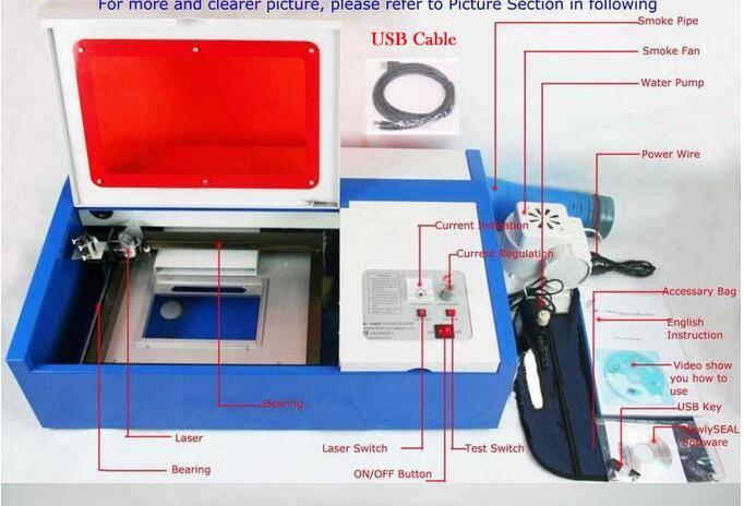 CO2 2030 Laser Engraving Machine