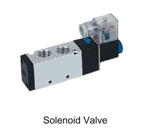 solenoid valve of mixing plant