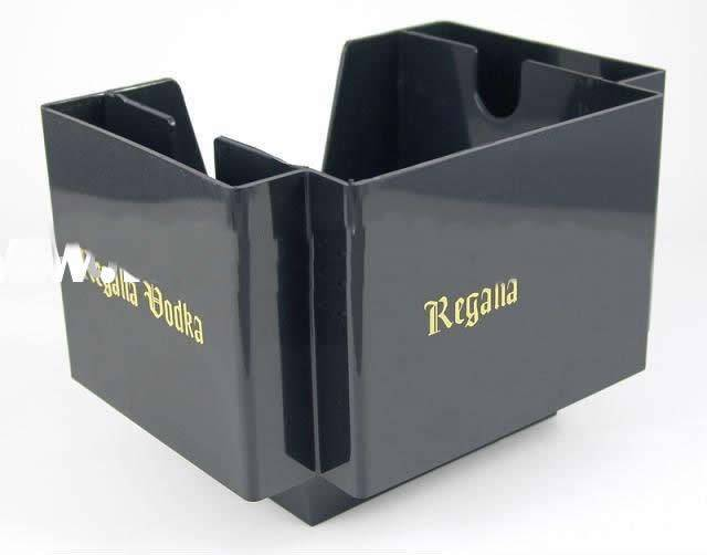 Guangzhou 2014 New Design Black Acrylic Tissue Holder