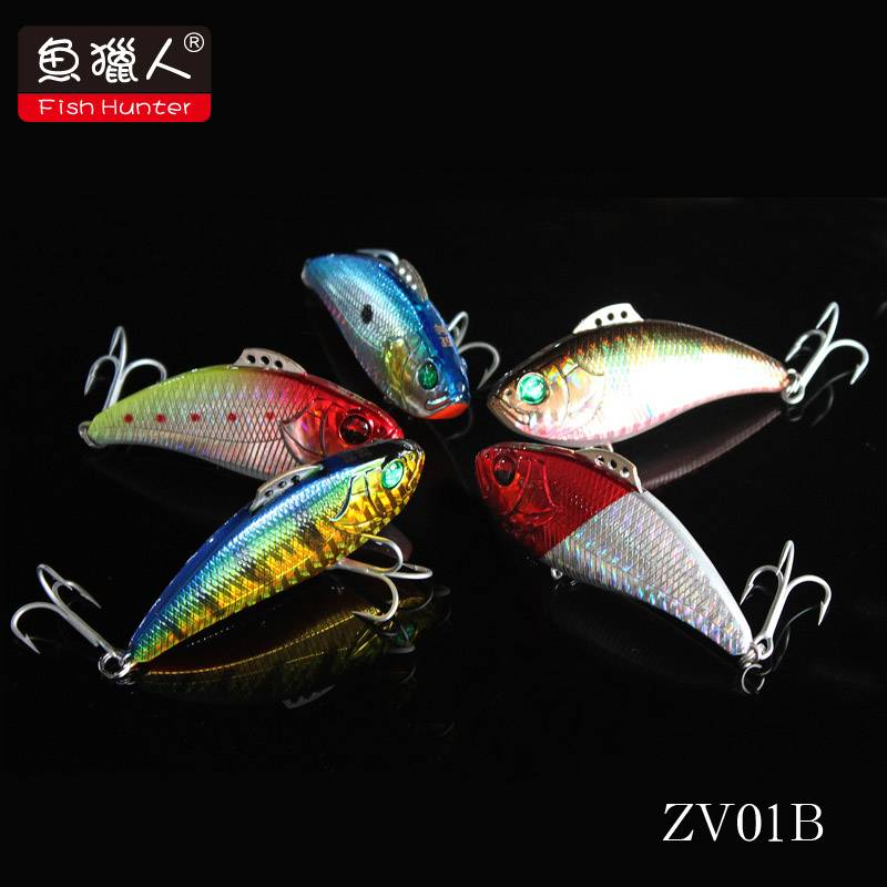 70mm/ 18g/fish hunter/ VIB/sinking/ hard fishing lure/wholesale