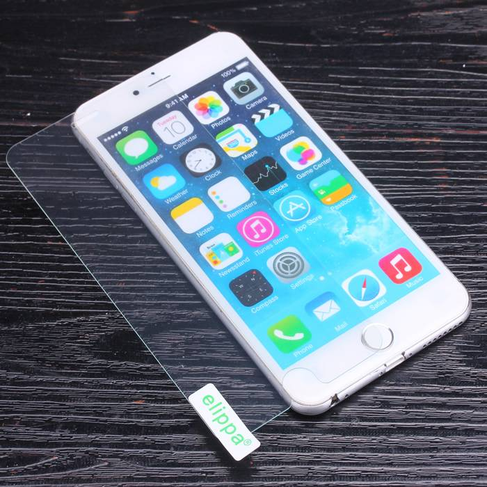 Hot sales factory price 9H mobile phone 0.33mm Tempered Glass Screen protector for iphone 6 plus