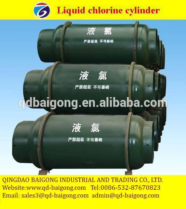 Steel Material and High Pressure Liquid Chlorine gas cylinder