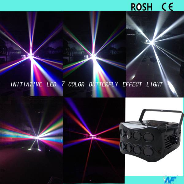 7Color LED butterfly effect 2016 new product