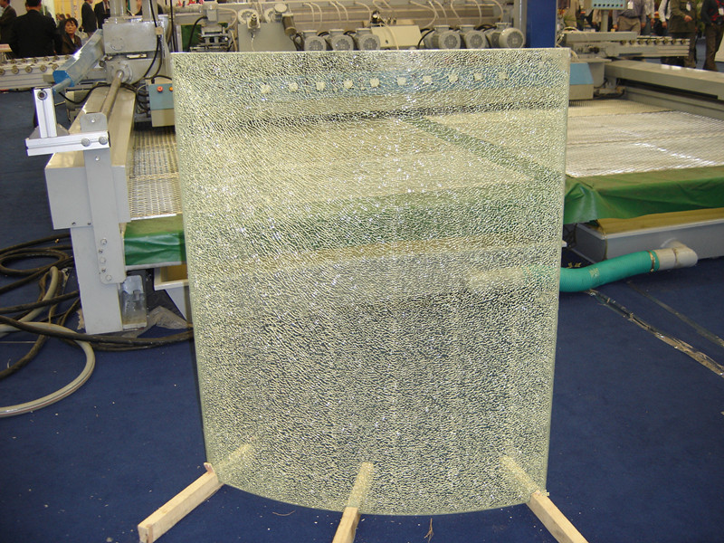 SAOSA UV cured resin for laminated crackle glass