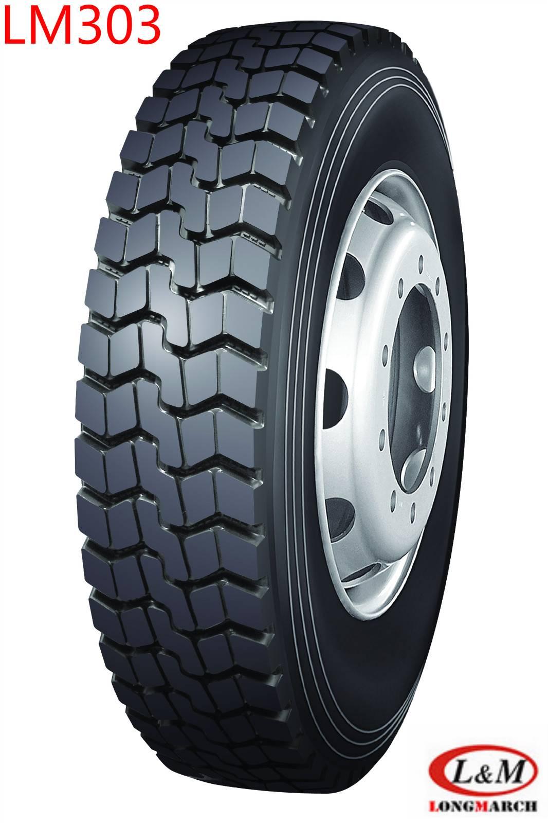 Long March Roadlux Radial Truck Wheel & Tyre (LM303)