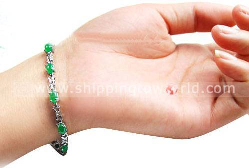 Malaysian Jade Bracelet Crystal Handicraft Crystal Adornment