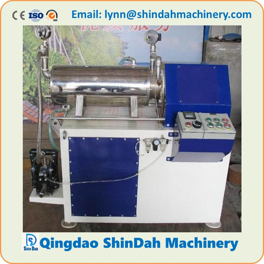 High Performance Horizontal Wet Grinding Bead Mill (disc type) Applied for Paint, Coatings, Ink