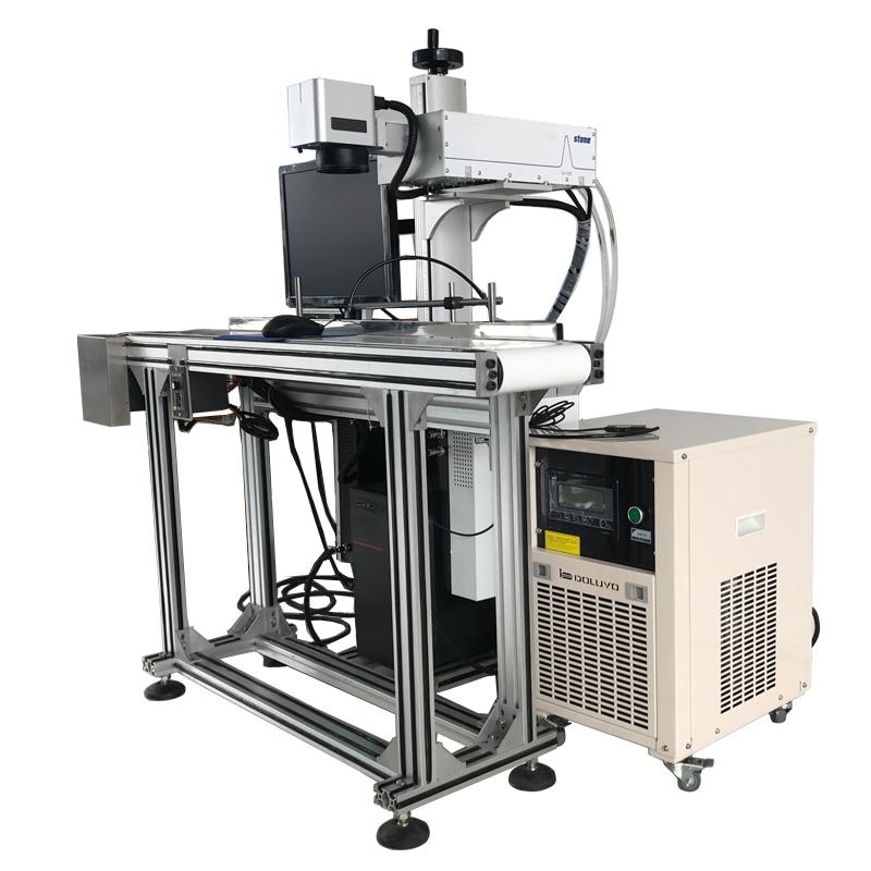 Factory price UV laser marking machine face mask laser marker laser marking production line