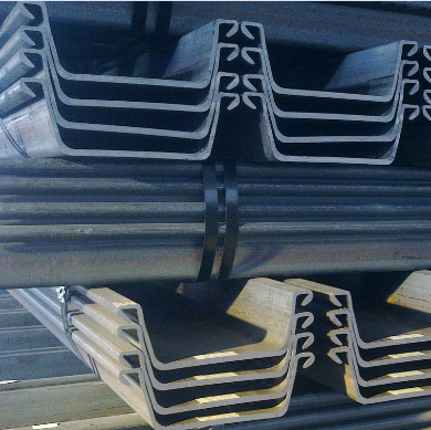 U Hot Rolled Steel Sheet Pile